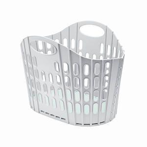 Fold Flat Laundry Basket - Mineral/Mist