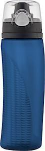 Intak Hydration Bottle With Meter Midnight Blue 710Ml