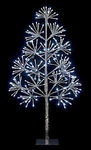 90Cm 256 White Led Tree