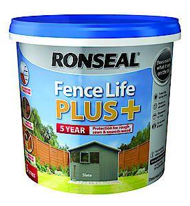 Fence Life Plus+ Tudor Black Oak 5L