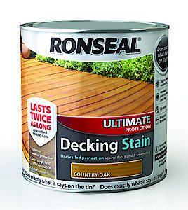 Ronseal Ult Deck Stain Walnut 2.5L