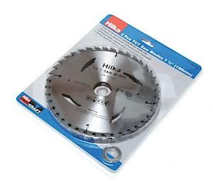 3Pc 7 1/2 Tct Saw Blades 190Mm