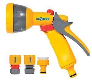 Hozelock Multispray Gun+ Fittings 2347