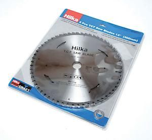 2Pc 12 Tct Saw Blades 300Mm