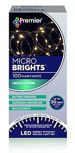 100 Bo Multi Action Microbrights. Ww With Timer  Cdu