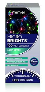 100 Bo Multi Action Microbrights. Multi With Timer  Cdu