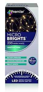200 Bo Multi Action Microbrights. Ww With Timer  Cdu