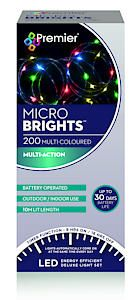 200 Bo Multi Action Microbrights. Multi With Timer  Cdu