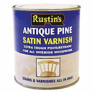 Poly Varnish Satin Antique Pine 500Ml