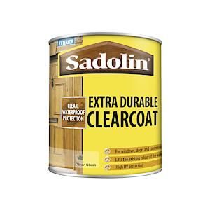 Sadolin Extra Durable Clear Coat 1 Clear Glos