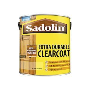 Sadolin Extra Durable Cler Coat 2.5 Cler Glos