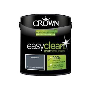 Crown Easyclean Matt Emulsion Aftershow