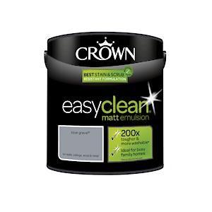 Crown Easyclean Matt Emulsion Blue Gravel
