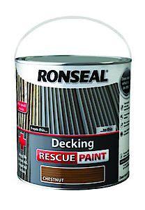 Ronseal Deck Rescue Chestnut 5L