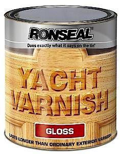 Ronseal Ext Yacht Varnish Gloss 500Ml