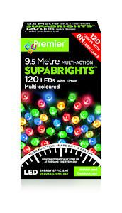 120 Led Multi Action Sbirghts Timer Multicolour