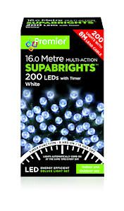 200 Multi Action Led Sbirghts Timer White
