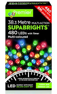480 Multi Action Led Sbirghts Timer Multicol