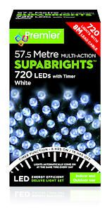 720 Multi Action Led Sbirghts Timer White
