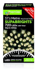 720 Multi Action Led Sbirghts Timer Warm White