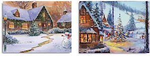 40X30cm Cottage Canvas Lb184883