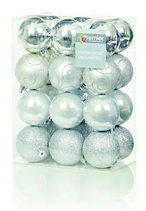 24 X 60Mm Silver Balls Td126241s