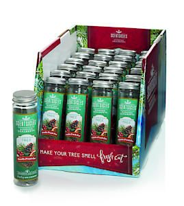@O Christmas Tree Scentsicles 6 Piece Bottle In Cdu