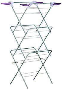 Thoroughbred 3 Tier Airer With 4 Flip Out Corner Hangers