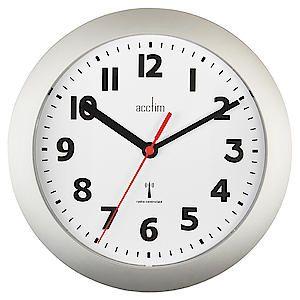 Parona Wall Clock 23Cm Silver