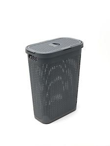 Rattan Slim Laundry Hamper 517486