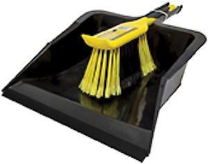 Bulldozer Dustpan & Brush Set