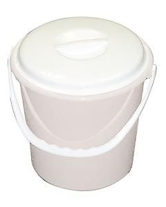 Lucy White Bucket Lid