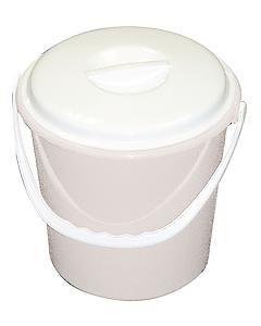 Lucy White 2 Gallon Bucket