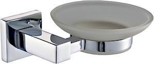 Chrome Square Soap Dish 19390