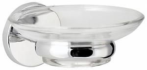 Chrome Round Soap Dish