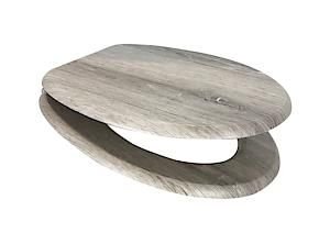 Mdf Toilet Seat Grey Oak