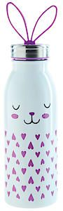 Zoo Insulated Bottle 0.45L Bunny