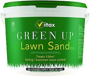 Green Up Lawn Care Lawn Sand (Tub) 156 Sq.M.