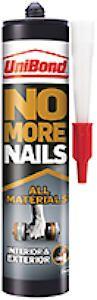 Unibond No More Nails All Materials Interior / Exterior