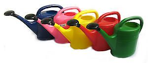 5 Litre Watering Can Red