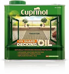 Cuprinol Uv Grd Deck Oil Nat 2.5L