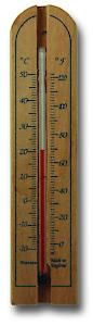 150Mm Wood Thermometer