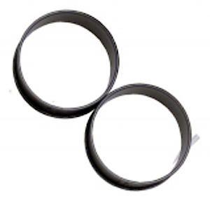 Poachette Ring Set  Of 2 Non Stick Coated