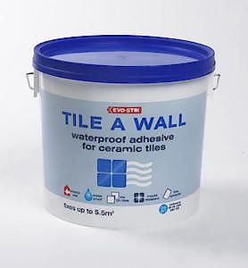 Evo-Stik Tile A Wall Waterproof Adhesive For Ceramic Tiles Large
