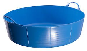 Flks Shallow Tubtrug Blue 35L