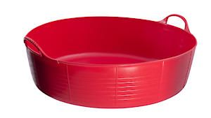 Flks Shallow Tubtrugs Red 35L