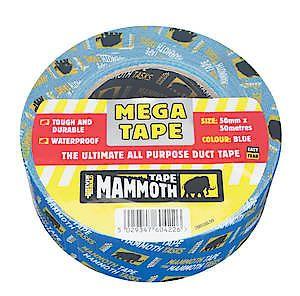 Mega All Purple Tape 50Mmx50m Black