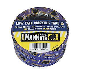 Low Tack Mask Tape 50Mmx25m