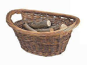 Log Basket Cradle Oval 0302