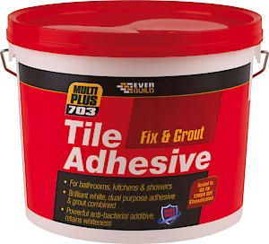 703 Fix And Grout Tile Adhesive 7.5Kg White